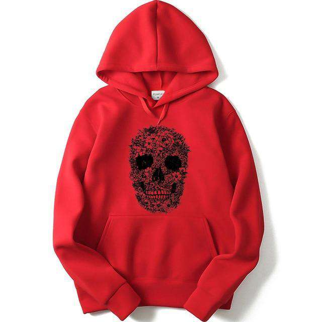 blend skull Fashion 3D hoodie, suitable for men and women old and young. - HypeLooks