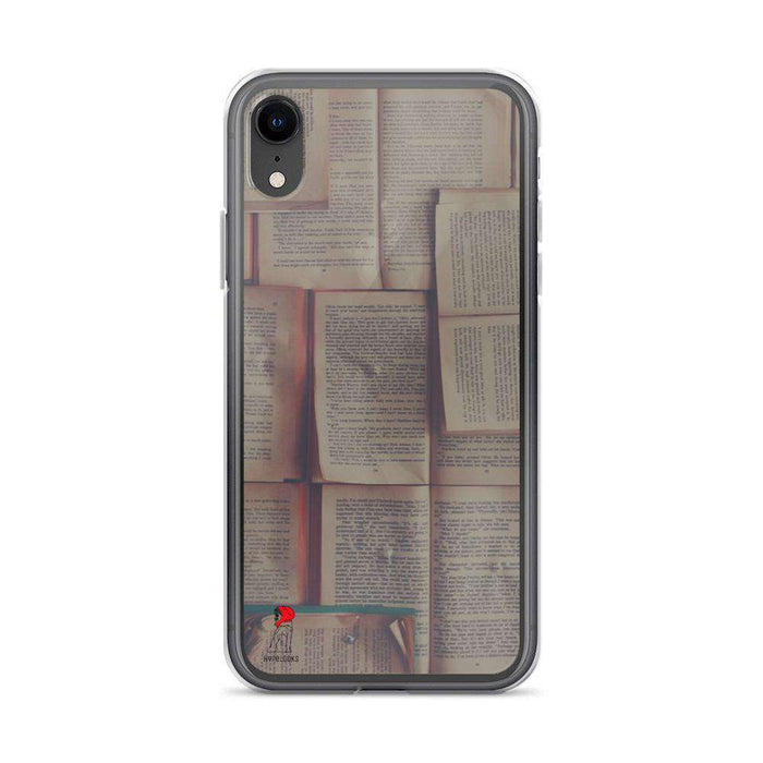 BOOK iPhone Case protects your phone from scratches, dust, oil, and dirt flexible sides - HypeLooks