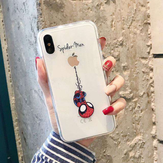 cartoon phone case, Animated Stylish Fashion Cool Skin, Dinosaur design cartoon - HypeLooks