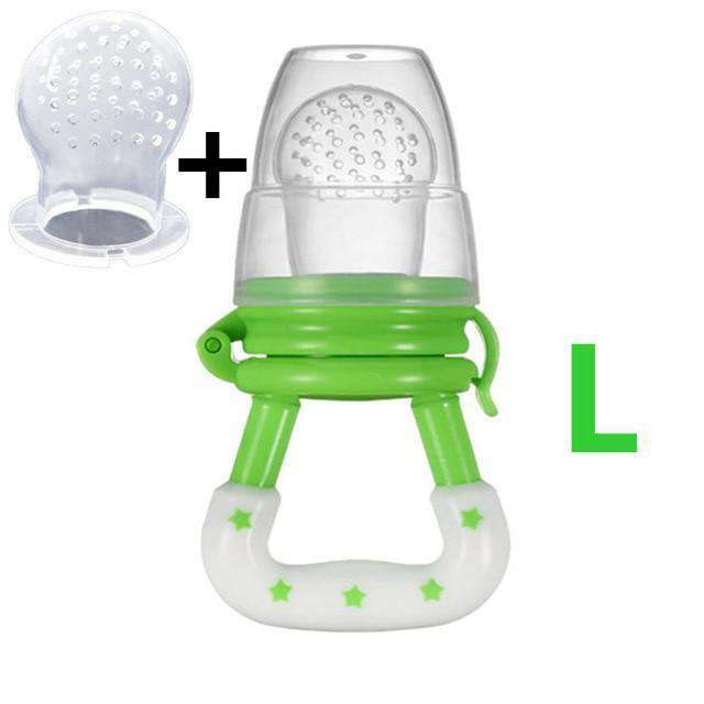 Custom Baby Food Feeder custom designed Fruit Pacifiers, Perfect to introduce new foods - HypeLooks