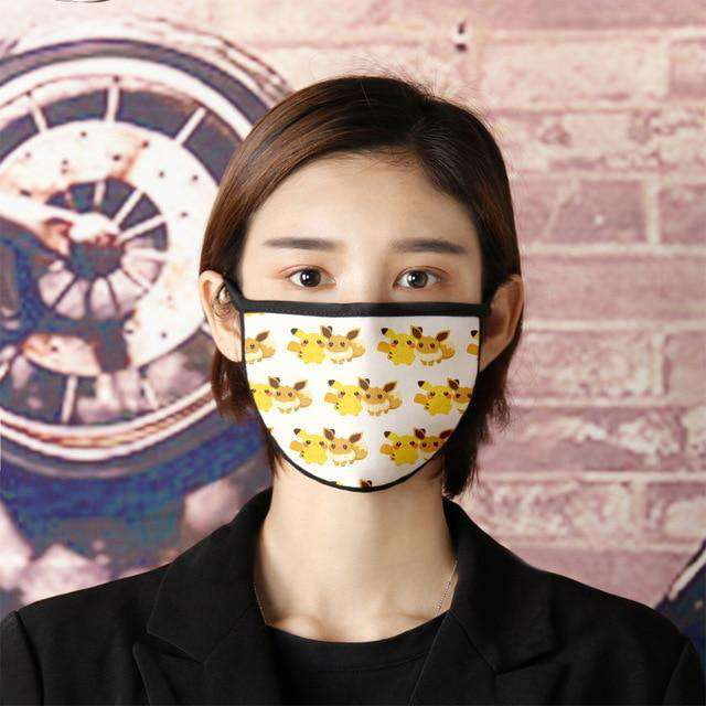 Cute Anime mask,  good breath ability mask,  new mouth mask adopts high-quality - HypeLooks