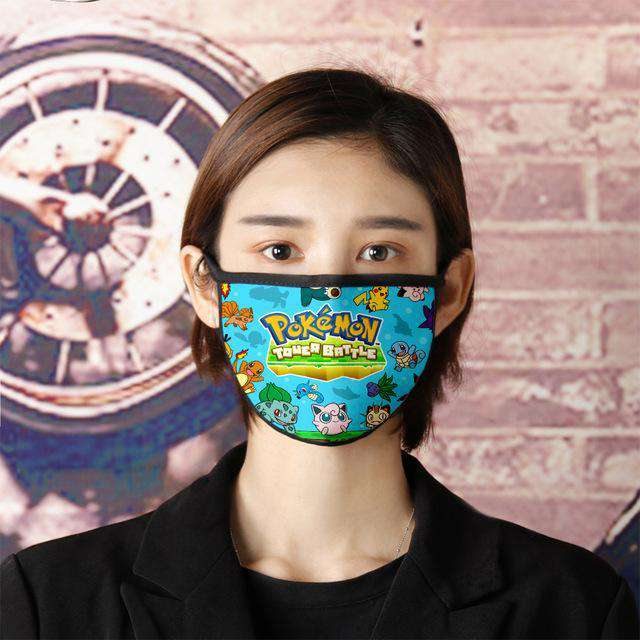 Cute Anime great soft mask, very comfortable and dedicated mask, lightweight mask - HypeLooks