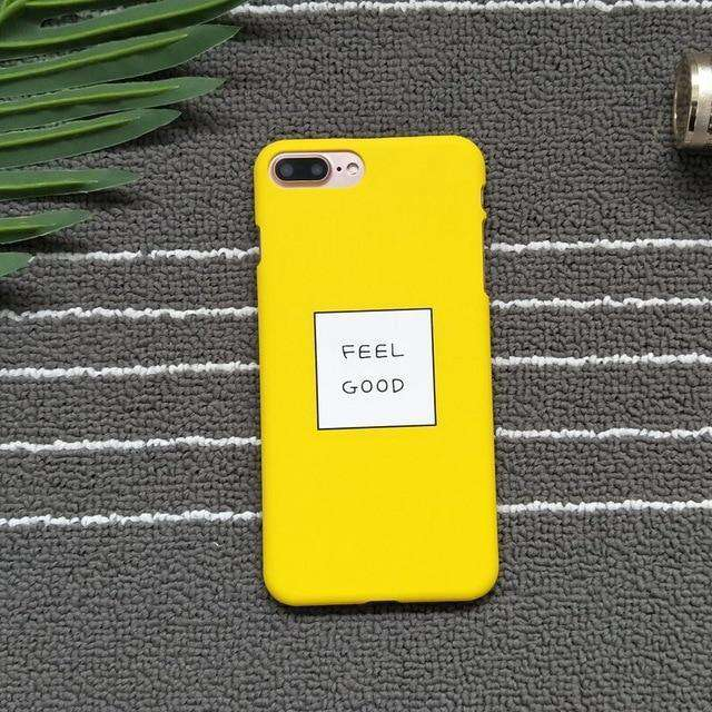 Feel good Neo World Feel Good Back Case Cover for iPhone 7 Plus Case, for iPhone 8 Plus Case - HypeLooks