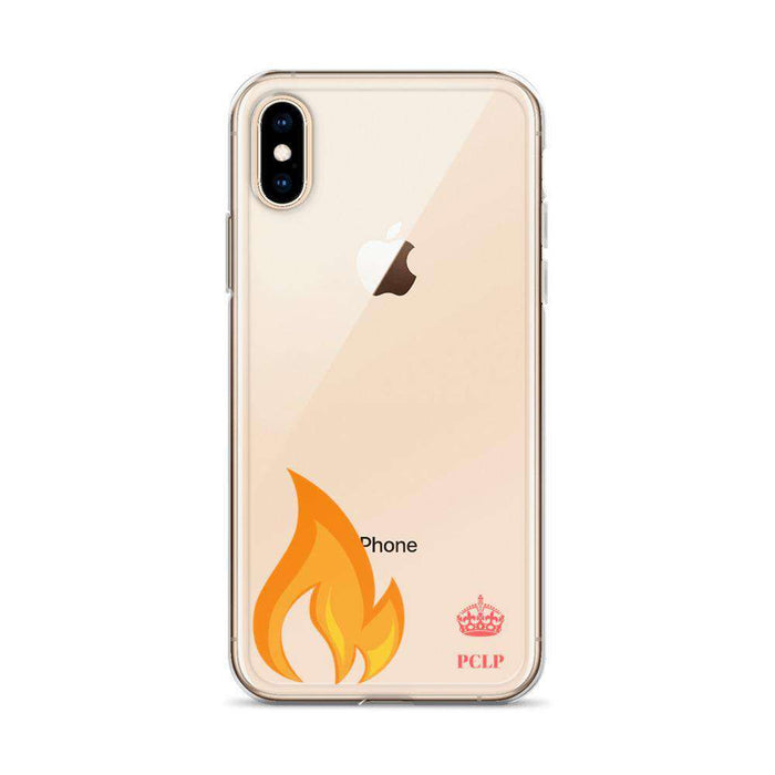 fire iPhone Case Pink Fire flame Ultra Durable Slim Fit  green Phone case for iPhone - HypeLooks