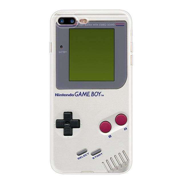 Game boy Case for iPhone, Retro Protective Cover Self-Powered Case ,Full Color Display,Video Game Case for iPhone - HypeLooks