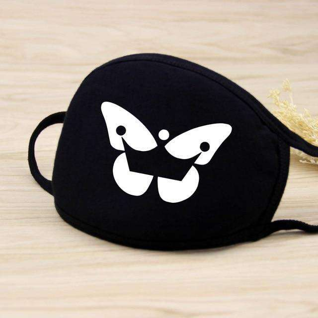 Gata Cover Your Mouth Face Mask Funny Crazy Graphic Novelty Nose and Mouth Covering - HypeLooks