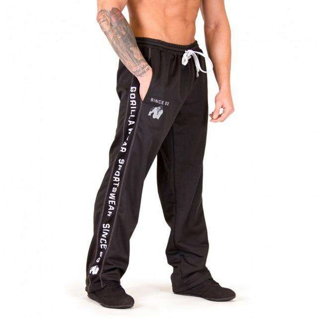 Mens Zip Joggers Pants - Casual Gym Workout Track Pants Comfortable Slim Fit Tapered Sweatpants with Pockets - HypeLooks