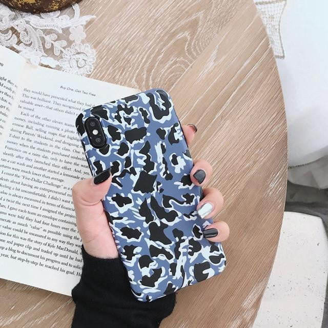Lovebay Leopard Print Phone Case Cover For Iphone 11 Pro XS Max XR X SE 2020 8 7 6 6S Plus Luxury Soft Back Cases Fashion Shell - HypeLooks