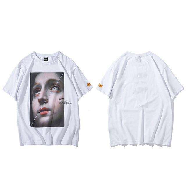 Little Girl Symbol Women's Solid Regular Fit Half Sleeve T-Shirt comfortable spring seassion - HypeLooks