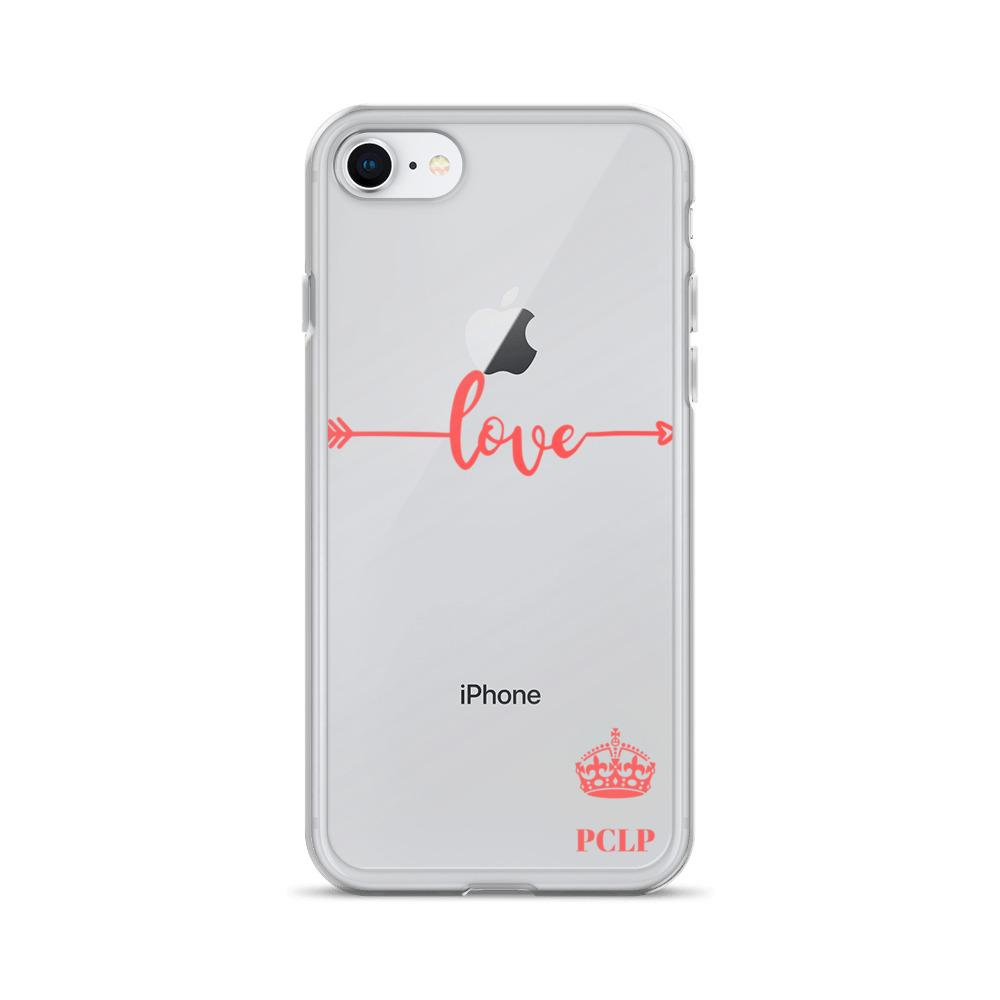 Love Flowers Sweet Handmade Design Clear Case For iphone 6 6s 7 8 Plus X Xr Xs Max 11 Pro Max Case Phone Cover - HypeLooks
