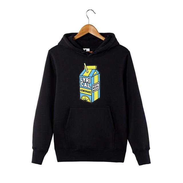 lyrical lemonade Lyrical Shirt Lemonade, LyricalLemonade Merch Hooded Sweatshirt - HypeLooks