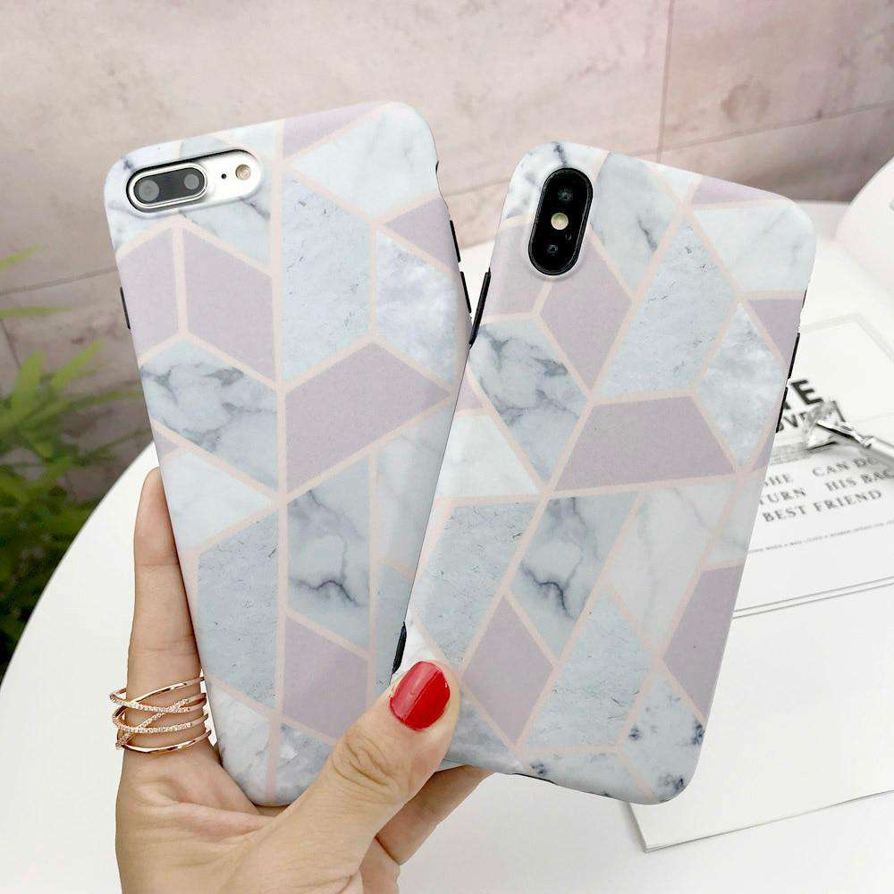 white Marble Abstract Background Designer Printed Hard Back Case and Cover for mobile phone - HypeLooks