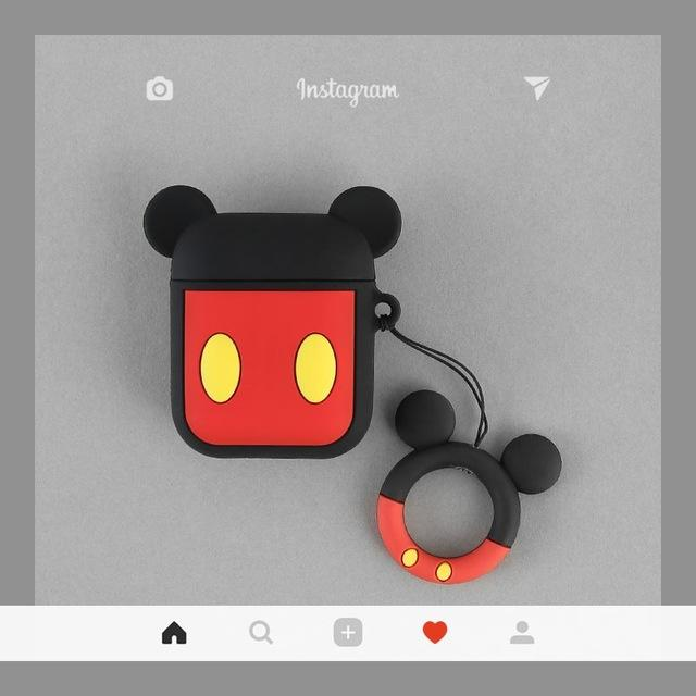 Compatible with Airpods Case, 3D Cute Cartoon Mickey Mouse Airpod Case, Charging Shockproof Earphone Case Cover for Apple AirPods 1&2 Case - HypeLooks
