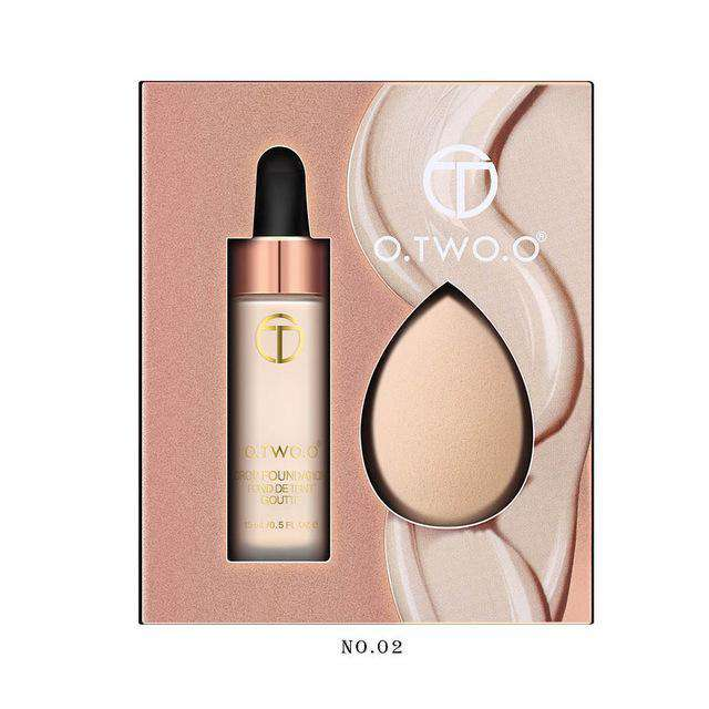 Revlon ColorStay Makeup for Combination/Oily Skin SPF 15, Longwear Liquid Foundation, with Medium-Full Coverage, Matte Finish, Oil Free - HypeLooks