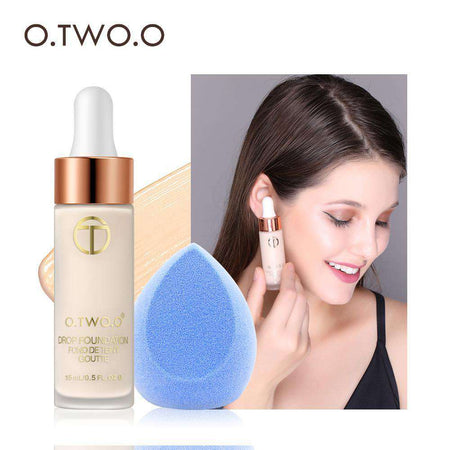 O.TWO.O Primer Makeup Oil Control Matte Make Up Face Base Cream Professional Pores Foundation Primer Liquid Cosmetic - HypeLooks