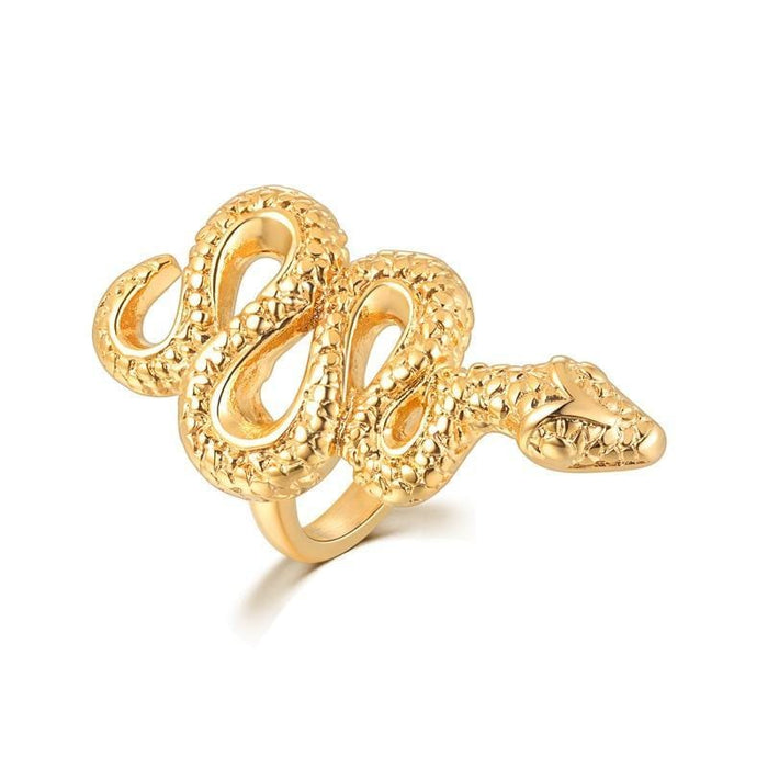 Serpent Snake RIng - HypeLooks