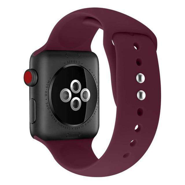 Sport Silicone Strap For Apple Watch - HypeLooks