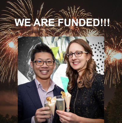Our Alcohol Free Vision is Crowdfunded!