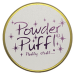 Lily Flame Powder Puff Candle Tin