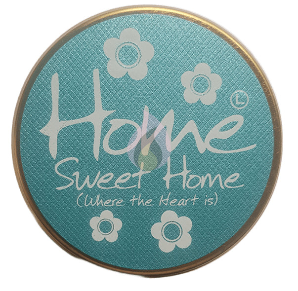 Lily Flame Home Sweet Home Candle Tin