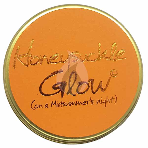 Lily Flame Honeysuckle Glow Candle Tin