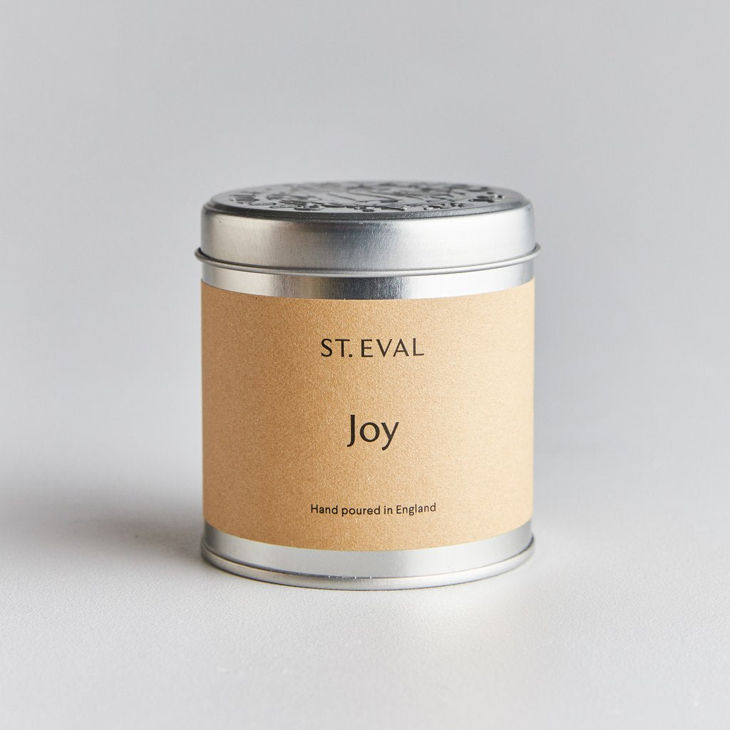 Joy Scented Candle Tin by St Eval