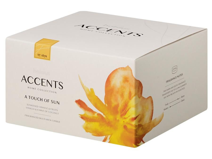 Accents Multiwick Candle Candle Bolsius A Touch of Sun