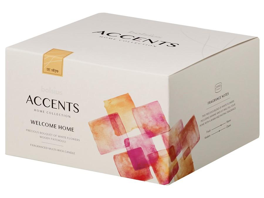 Accents Multiwick Candle Candle Bolsius Welcome Home