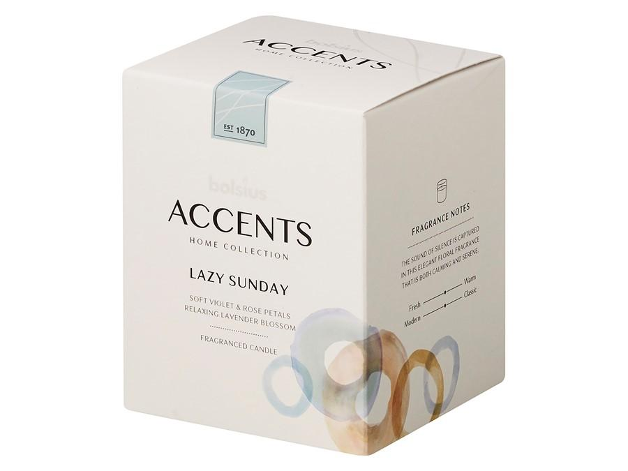 Accents Small Candle Candle Bolsius Lounge Luxury