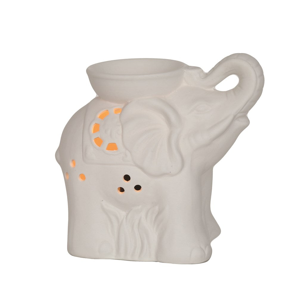 Ceramic Elephant Electric Wax Burner