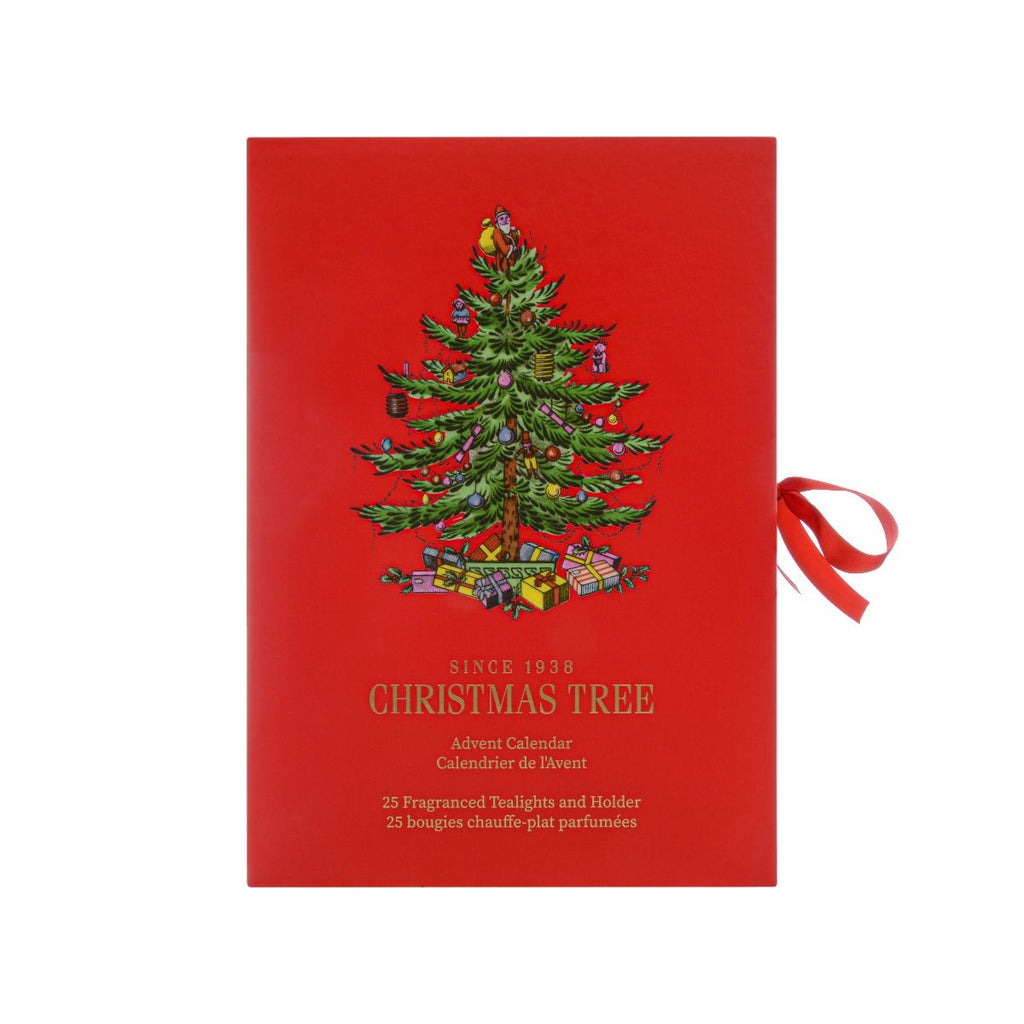 Christmas Tree Candle Advent Calendar by Wax Lyrical