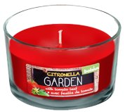 Citronella Candle Glass Jars Outdoor Bolsius Tomato Leaf