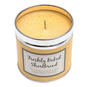 Fresh Baked Shortbread Scented Candle Tin Candle Tin Best Kept Secrets