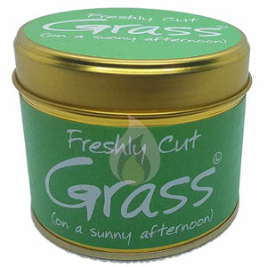 Lily Flame Fresh Cut Grass Candle Tin