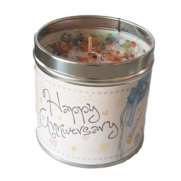 Happy Anniversary Just Because... Candle Tin Best Kept Secrets