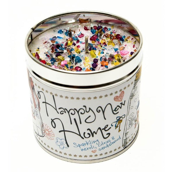 Happy New Home Just Because... Candle Tin Best Kept Secrets
