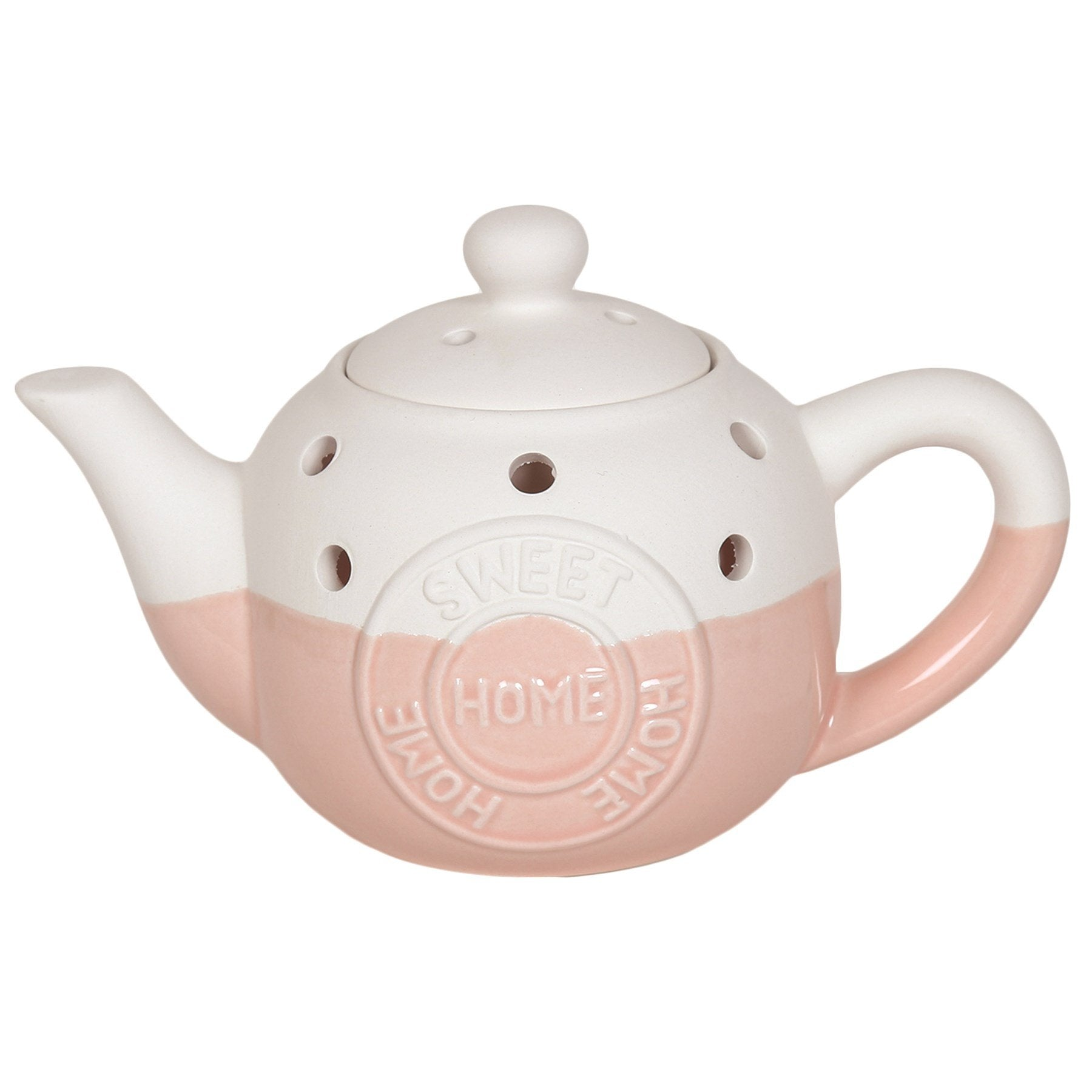 Home Sweet Home Teapot Wax/Oil Burner Electric Burner Aromatize Pink