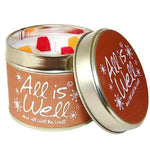 Lily Flame All is Well Candle Tin Candle Tin Lily Flame