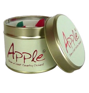 Lily Flame Apple Candle Tin Candle Tin Lily Flame