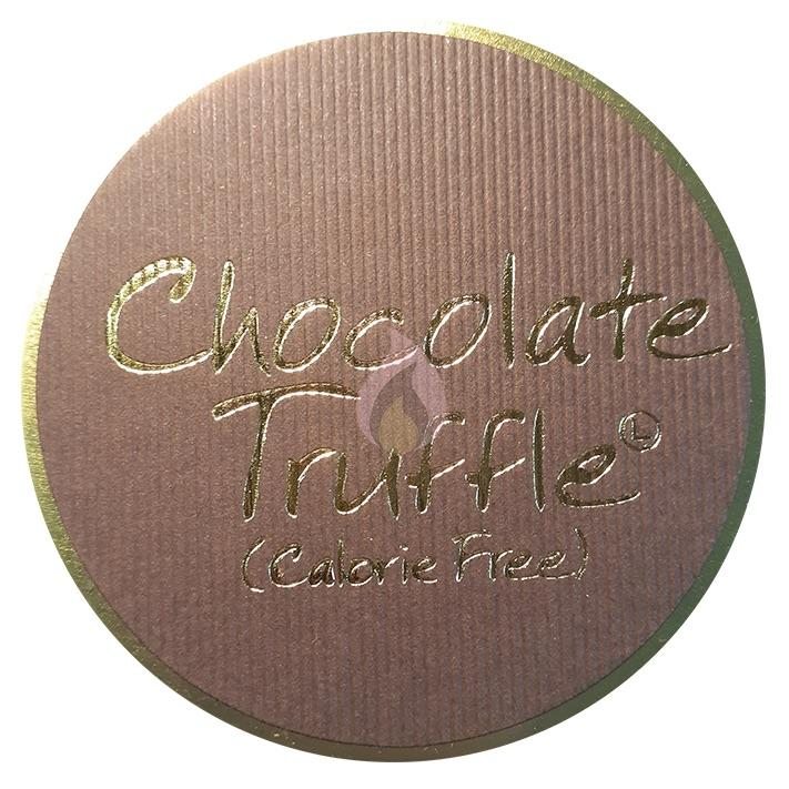 Lily Flame Chocolate Truffle Candle Tin Candle Tin Lily Flame