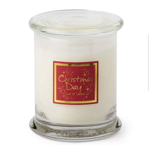 Lily Flame Christmas Day Candle Jar Candle Jar Lily Flame