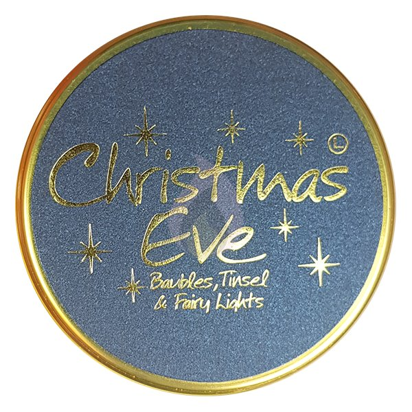 Lily Flame Christmas Eve Candle Tin Candle Tin Lily Flame