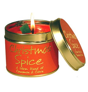 Lily Flame Christmas Spice Candle Tin Candle Tin Lily Flame