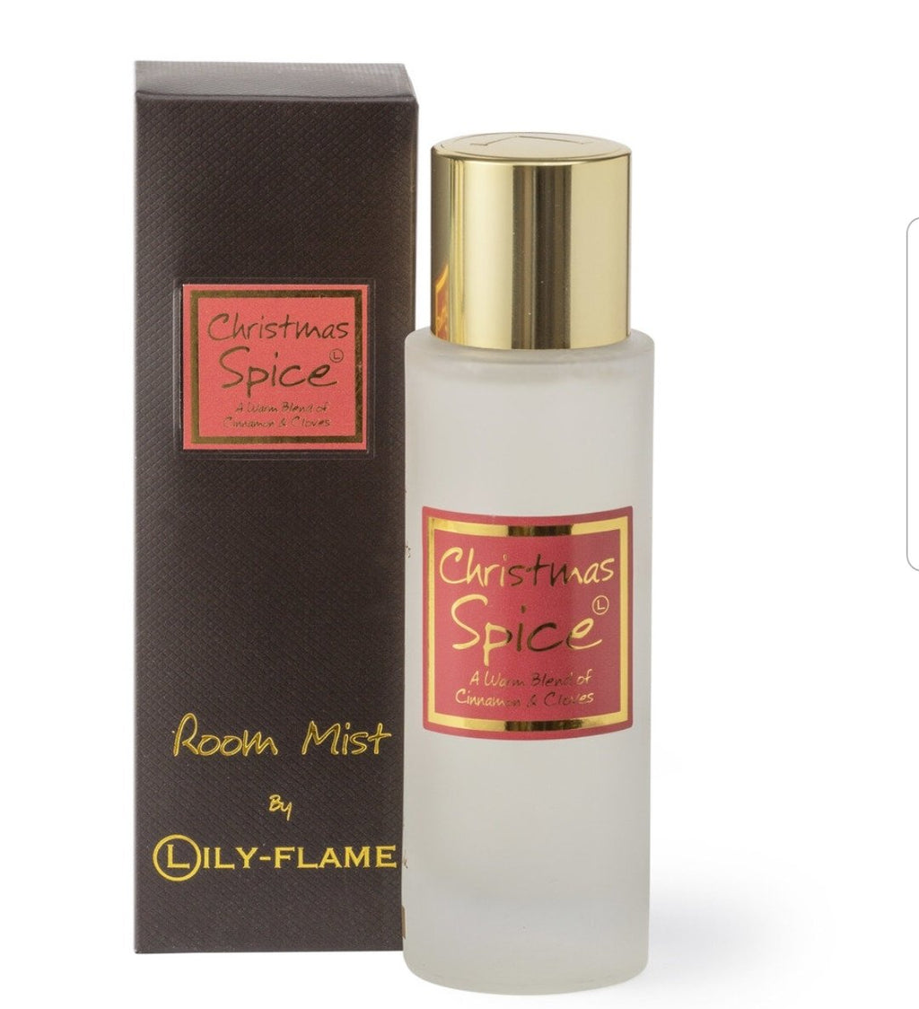 Lily Flame Christmas Spice Room Spray Room Spray Lily Flame