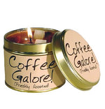 Lily Flame Coffee Galore Candle Tin Candle Tin Lily Flame