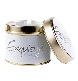 Lily Flame Exquisite Candle Tin Candle Tin Lily Flame