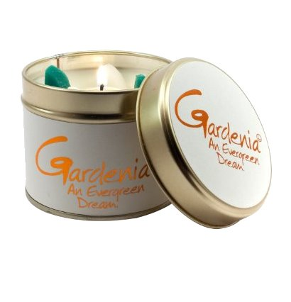 Lily Flame Gardenia Candle Tin Candle Tin Lily Flame