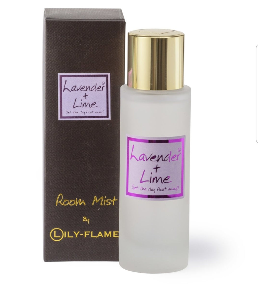 Lily Flame Lavender & Lime Room Spray Room Spray Lily Flame