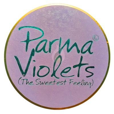 Lily Flame Parma Violets Candle Tin Candle Tin Lily Flame
