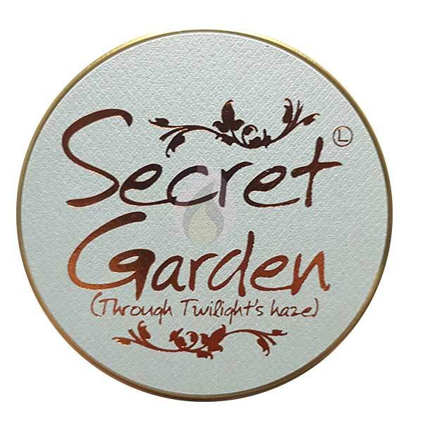 Lily Flame Secret Garden Candle Tin Candle Tin Lily Flame